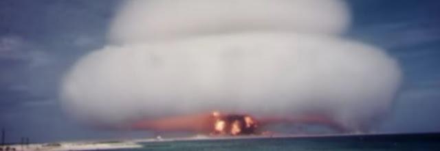 Vídeos de testes nucleares dos EUA são liberados na Internet
