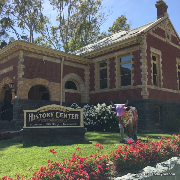 exterior of History Center Museum of San Luis Obispo County Museum in San Luis Obispo, California