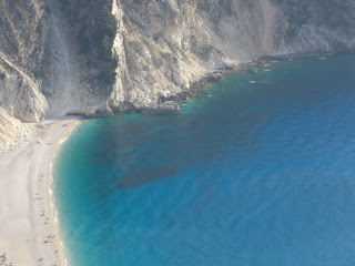 Kefalonia - Myrtos Beach - turquoise water