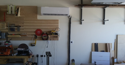 Adding A/C to your garage