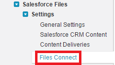 Infallible Techie: How to enable Salesforce Files Connect