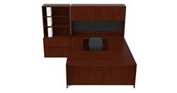 Cherryman Ruby U Desk