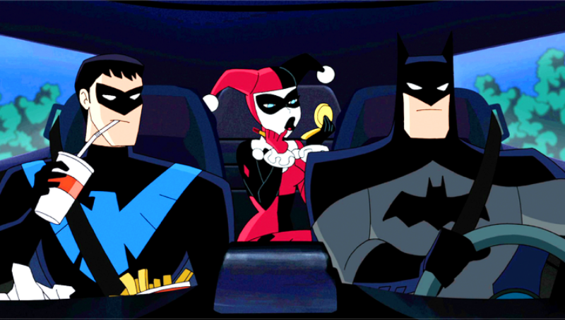 Batman and Harley Quinn Original Animatd Film Debuts First Trailer.