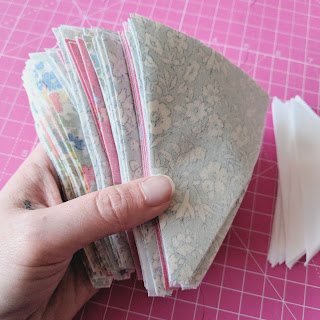 fabric pieces for quilting