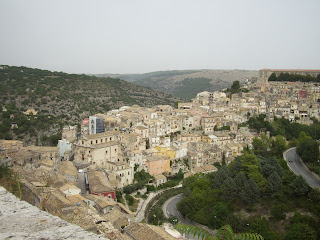 Hill towns are typical of Sicily's rugged landscape