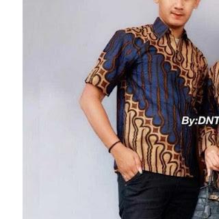 Batik Kemeja Batik Pendek Parang Classic