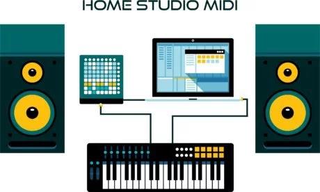 arquivos midi para teclado