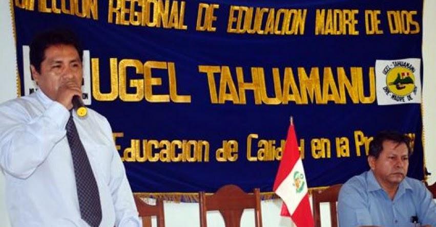 Designan nuevo director en la UGEL Tahuamanu (Roger Hugo Roque Vargas) DRE Madre de Dios - www.dredmdd.gob.pe