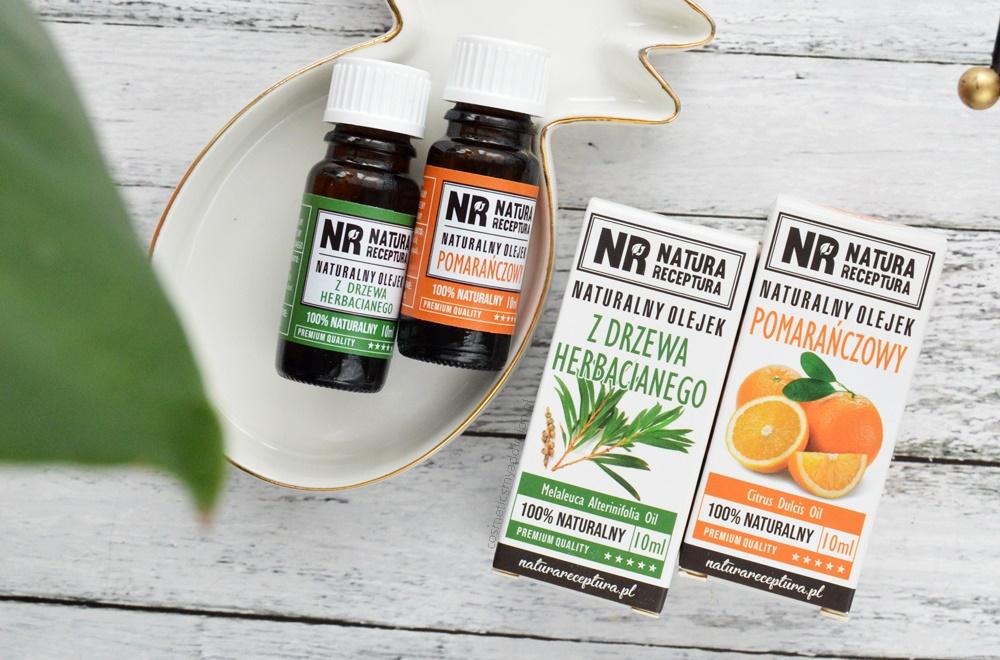 Moje ulubione zastosowania hydrolatu i maceratu - opinia o kilku produkach Natura Receptura
