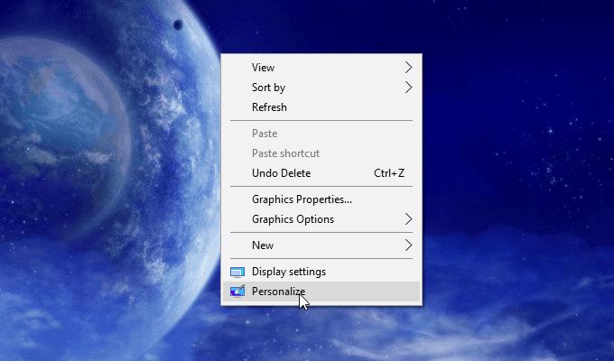 thay hình nền màn hình khóa Win 10