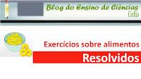 Exercícios sobre alimentos