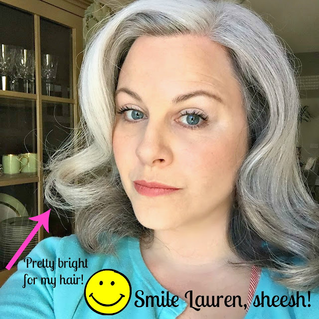 hair gray grey makeup silver bourgeois premature growing round half above tips discover