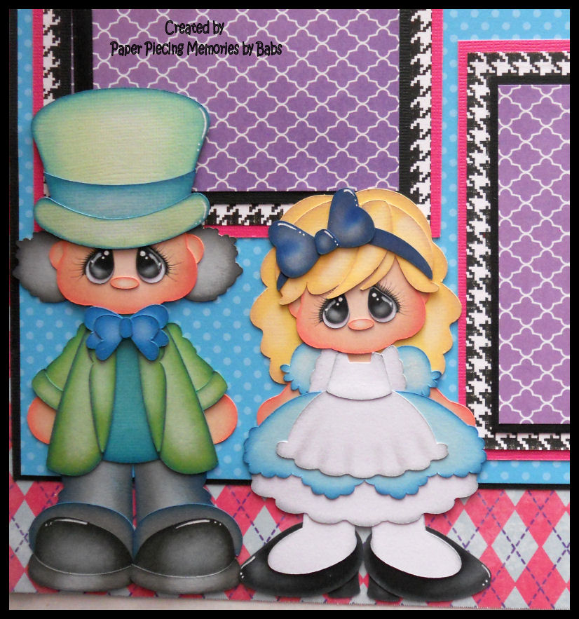 paper piecing memories by babs  scrapbook layouts