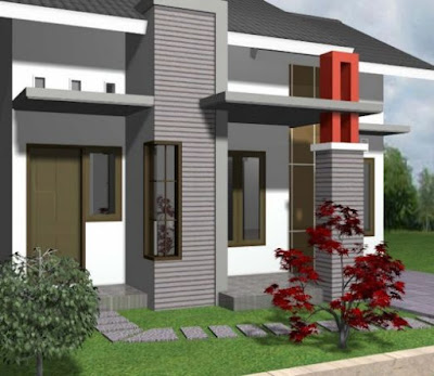 model atap rumahnya type 36