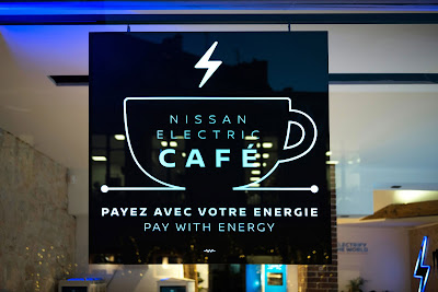 Nissan Electric Café