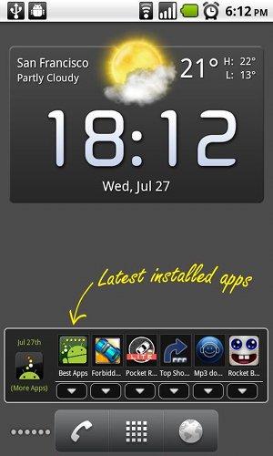 [DOWNLOAD] Widget u/ Tampilkan Aplikasi Android yg Baru Diinstall