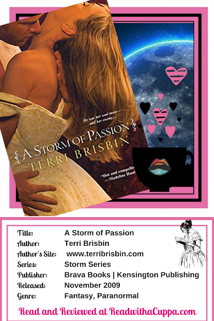 Read the book review for A Storm of Passion by Terri Brisbin at https://www.readwithacuppa.com/2018/06/storm-of-passion-terri-brisbin.html