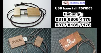 USB Flashdisk kayu tipe FDWD03 dilengkapi dengan strap/tali kain, usb kayu gelang tali Fdwd03, USB Flash Disk kayu tali FDWD03, Flash disk kayu FDWD – 03, USB Wood Strap