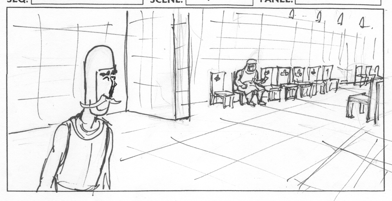 Storyboards: Knights Hospitlar.