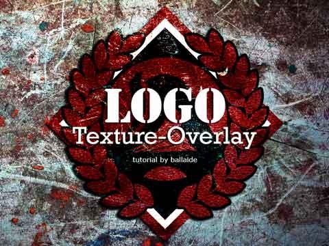 Photoshop Tutorials Texture Logo Effect