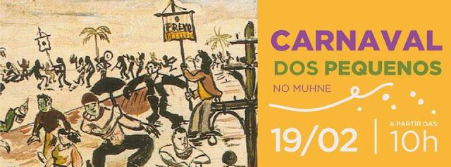 Museu do Homem do Nordeste programação de carnaval 2017