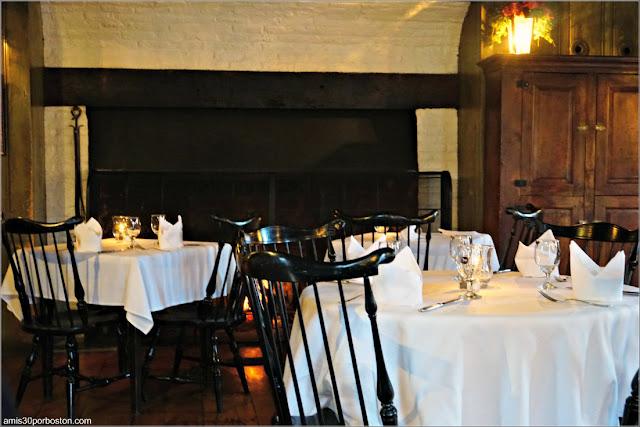 Comedor de la White Horse Tavern, Newport