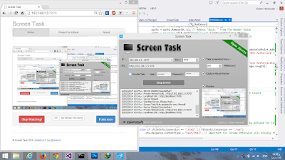 Screen Task