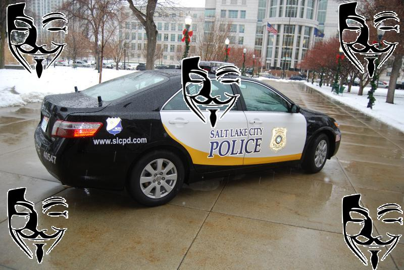 Salt Lake City Police Department Hacked By Anonymous (# ...