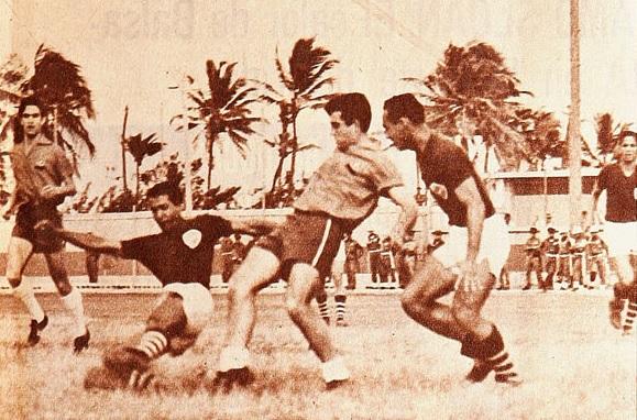 Colombia y Chile en Clasificatorias a Inglaterra 1966, 7 de agosto de 1965