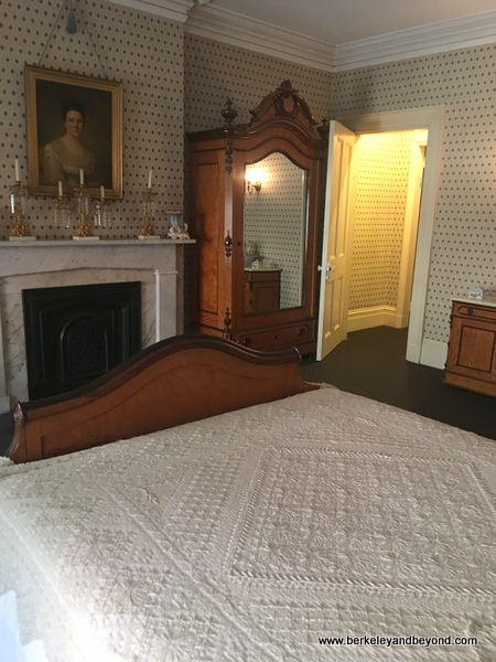 bedroom at Theodore Roosevelt Birthplace in NYC
