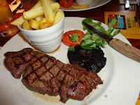 Steak and Chips - Beefeater Grill