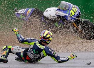 Rossi Jatuh di GP Assen Karena Terlalu Ambisi