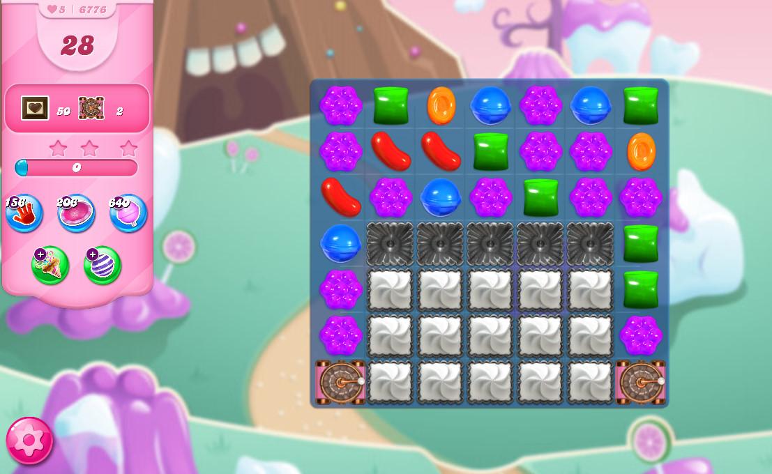 Candy Crush Saga level 6776