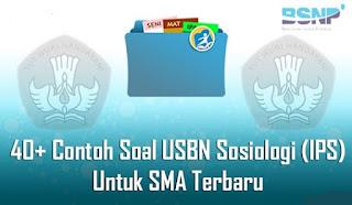 40+ Contoh Soal USBN Sosiologi (IPS) Untuk SMA Terbaru 2019/2020 Lengkap