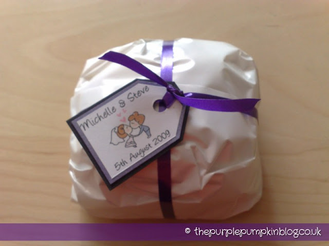 Wedding Favours at The Purple Pumpkin Blog