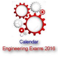 Engineering Entrance Exam 2016 Form & Exam Dates