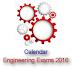 Calendar for Engineering Entrance Exam 2016: Form & Exam Dates