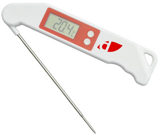 DEAL Digital meat thermometer for food, sugar, oil, milk, jam, homebrewing £12.74