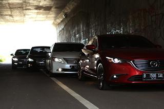 Honda Accord vs Toyota Camry vs Mazda6 vs Nissan Teana 250 XV