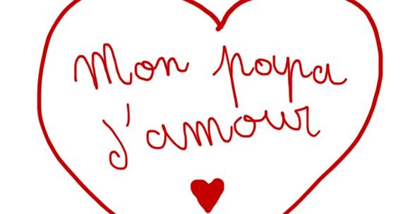 Image De Coeur Dessin Denfant Mon Papa Damour