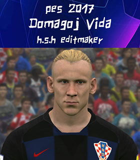 Face D. Vida PES 2017 By H.S.H EditMaker