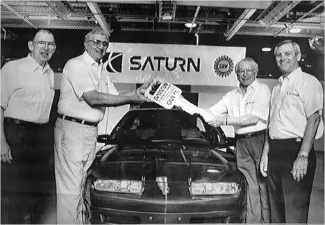 Saturn Cars Sister Company
