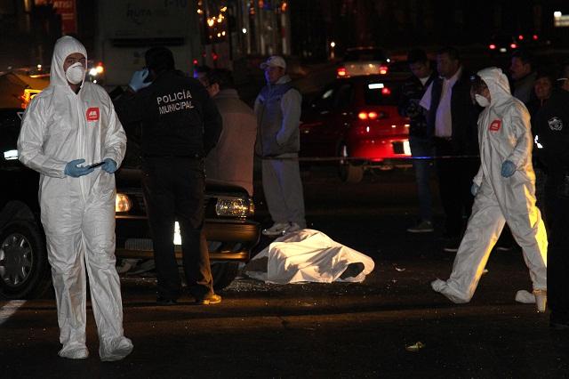 Taxista muere en accidente