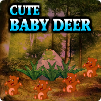 AvmGames Cute Baby Deer Escape