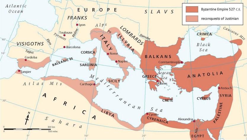 Byzantium Empire Map Sejarah Penyebab Perang Salib Pertama dan Paus Urbanus II