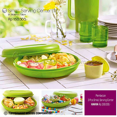Small Serving Center ~ Katalog Tupperware Promo Mei 2016