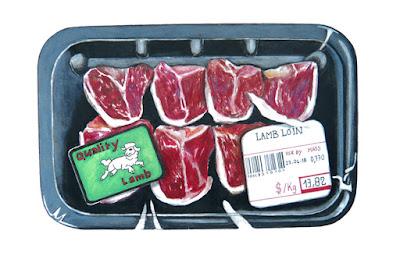 "Dessin ""Quality lamb"""