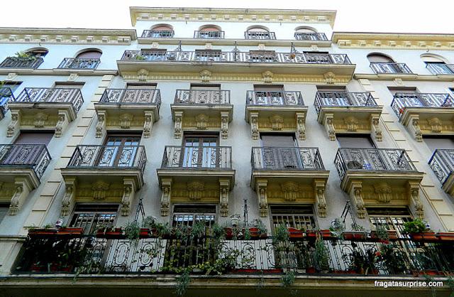 Casarão no bairro de Chueca, Madri