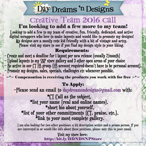 http://daydreamsndesigns.blogspot.com/p/ct-call.html
