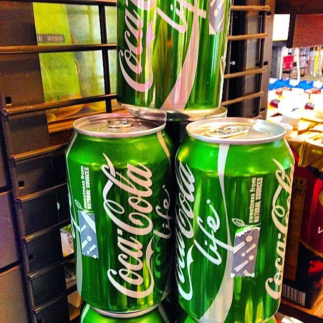 Green Coke in Hong Kong